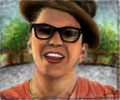 Bruno Mars by cesinhalima
