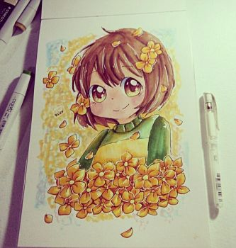 Chara by IceBluu