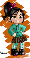 Vanellope by Airy-F
