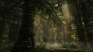 Skyrim Dungeon I by Solace-Grace