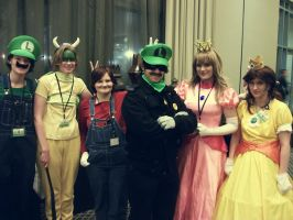 Epic Mario Party 'Naka-Kon 2012' by MissLink8908