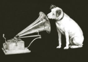 His Master Voice by art-koncept