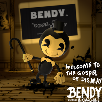 (BendyAndTheInkMachine)-The Gospel of Dismay by CutieTree