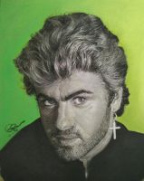 My Tribute to George Michael  by Gareth-Jenkinson-Art