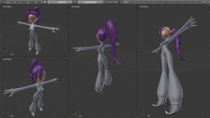 3D Shantae progress by Mythical-Human