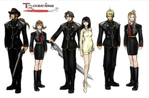 Final Fantasy VIII - Character Artworks SeeDs by zelu1984