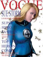 Sue Storm Vogue by fingertapper1