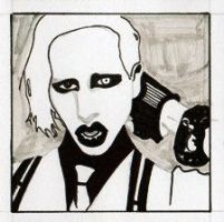 Marilyn Manson Square by Heal-Me