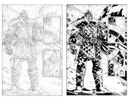 Northlanders Inks Comparison by TomParrish