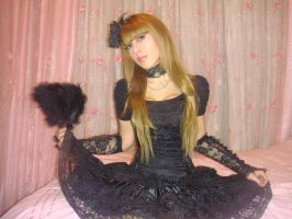 Tanit-Isis Black Lolita III by tanit-isis-stock
