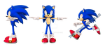 Work on New Sonic model by Fentonxd