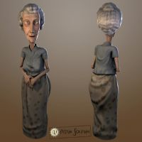 Demo reel old lady by Mayrt