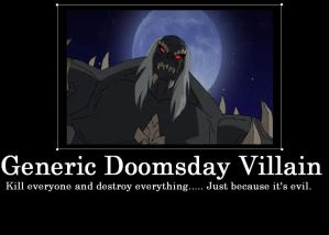 Generic Doomsday Villain