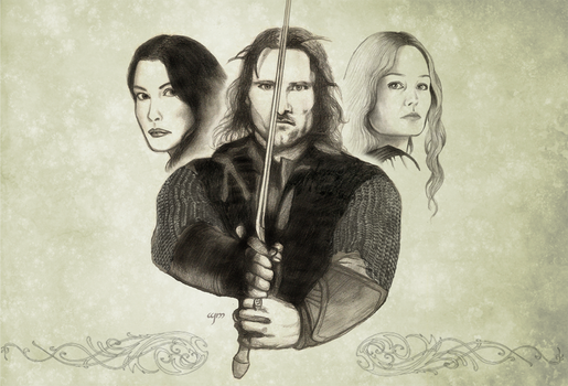 Aragorn 2 - UPDATED by Wild-Huntress