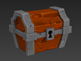 Spelunky Chest WIP 4 by meatfortress