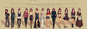 Wardrobe Meme - Rowan Sawyer by tbdoll