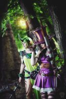 Soraka and Caitlyn - League of Legends Bot-lane! by TineMarieRiis
