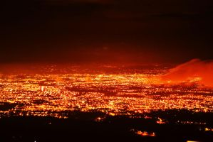 City on Fire by elendoy