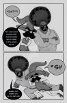 Page 8 of Black Fist and Brown Hand by johnnyp313