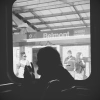 The Belmont Silhouette by jonniedee