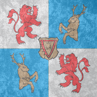 Duchy of Courland ~ CoA Grunge Flag (1561 - 1795) by Undevicesimus
