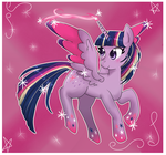 Spakly Twilight Sparkle by Ferchase