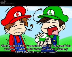 Super Italian Bros. FAIL by NSYee36