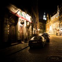 Old riga at night by billysphoto