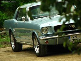 ford mustang coupe- by AmericanMuscle