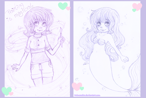 Sketches: Pixie and Annie by Primarella