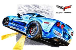 Chevrolet Corvette C6 Z06 by Arek-OGF