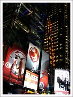 Times Square At Night 3 by Blood-Of-A-Pirate
