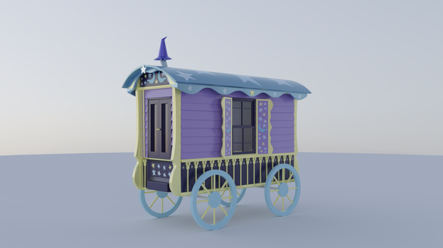 Trixie's wagon (unfinished) by gabe2252