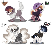 Cliche Halloween Adopts | CLOSED | by Pawscratch