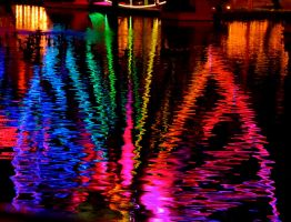 Rainbow Reflection by cokebottleglasses