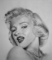 Marilyn Monroe by rukkuss