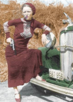 Bonnie_Parker_Colored by intenseone345