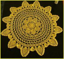 Sunshine Doily by radioactive-orchid