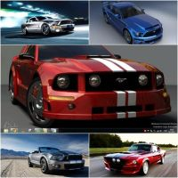Windows 8 Mustang Theme by CyberAngel86