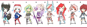 [10-60 Point]  Cheap Adopts -TAKEN- by Voodoo-Elf