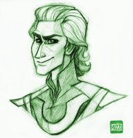 Loki bust by Midsea
