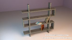 Bookshelf by bigroguevogue