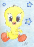 Tweety by Melfina-da-littleone