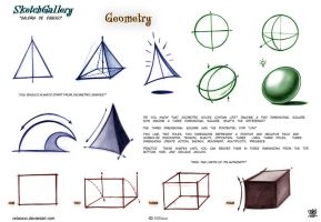 How to Draw Geometry by celaoxxx