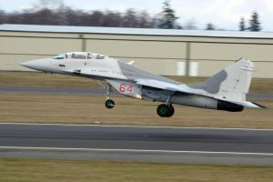 Mig-29UB Takeoff by shelbs2