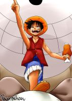 Luffy-chan by paurachan