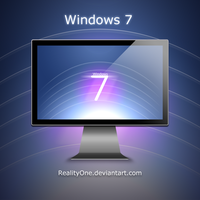 "Windows 7 ""lines"" by RealityOne"