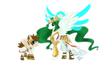 MLP: Kid Icarus by skyfinder