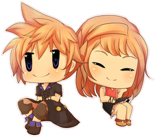 15/50 World of Final Fantasy by Decora-Chan