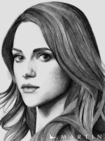 Lyndsy  Fonseca portrait by Martin--Art